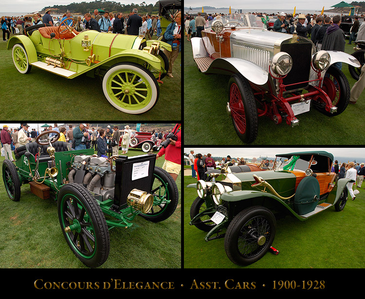 Concours Cars 1900-1928