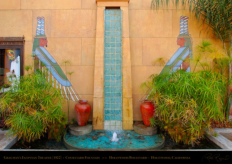 EgyptianTheater_CourtyardFountain_6162