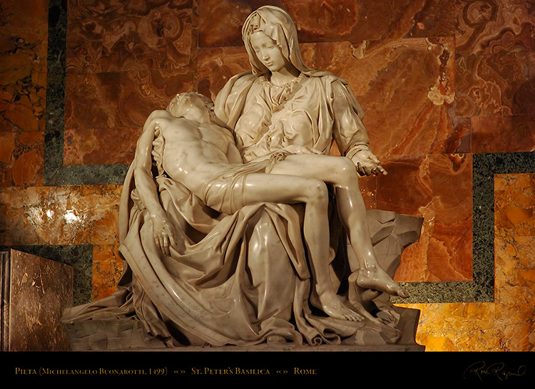 Pin Pieta By Michelangelo Facts 50 Cal Bullet Tattoos ...