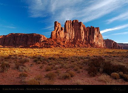 Monument_Valley_Sunrise_Camel_Butte_X9931
