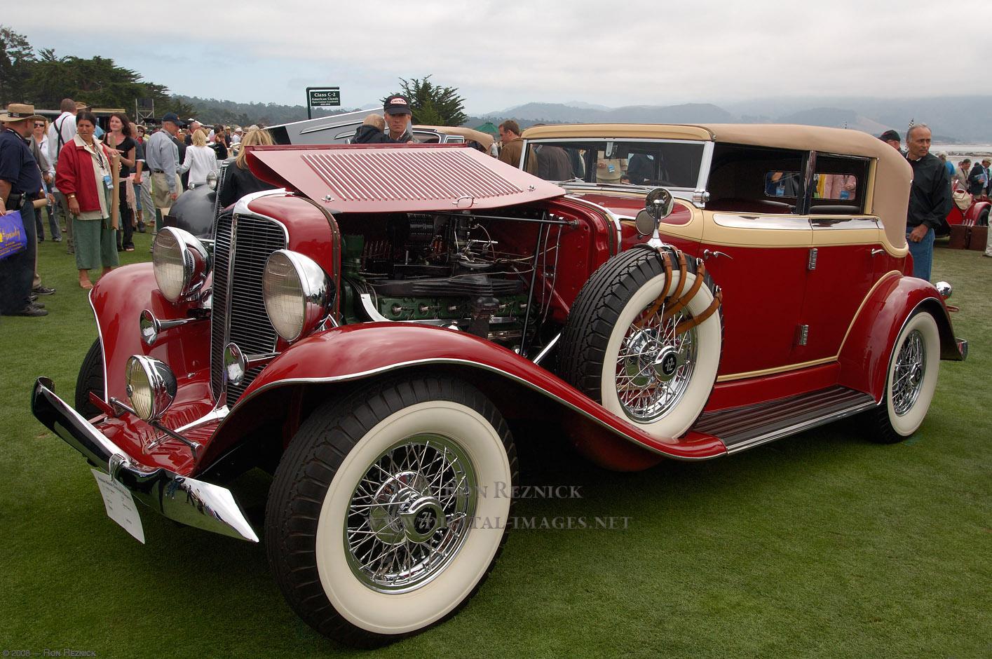 Auburn 1932 Salon Phaeton