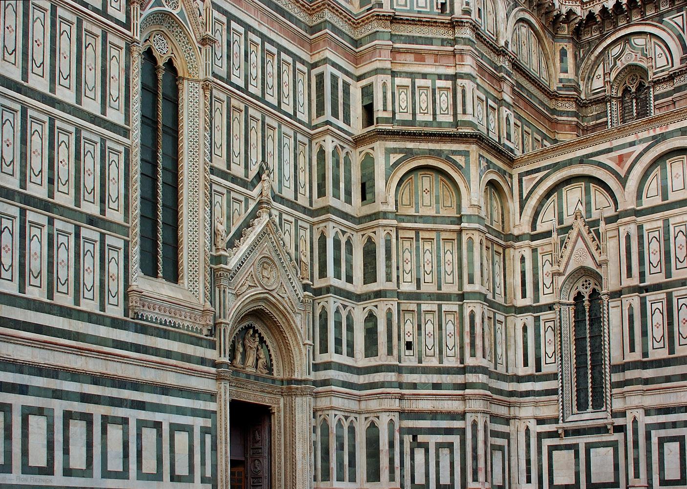 Facade: Santa Maria Del Fiore (Duomo) Architectural Details