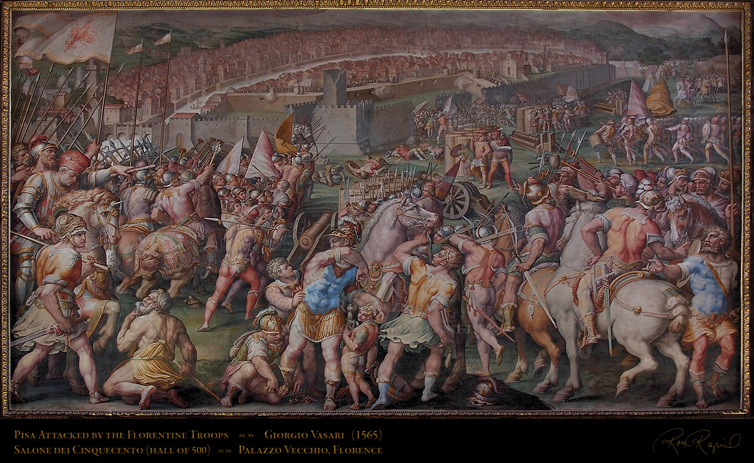 1000 images about giorgio vasari on pinterest for Battle of marciano mural