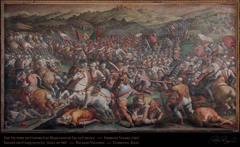 Giorgio vasari, The battle and Murals on Pinterest