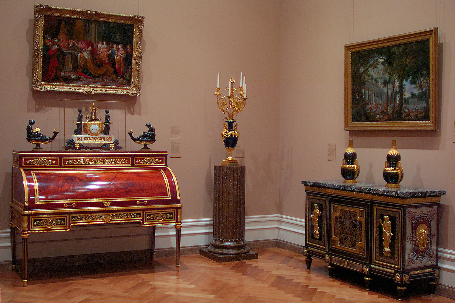 furniture of the j paul getty museum