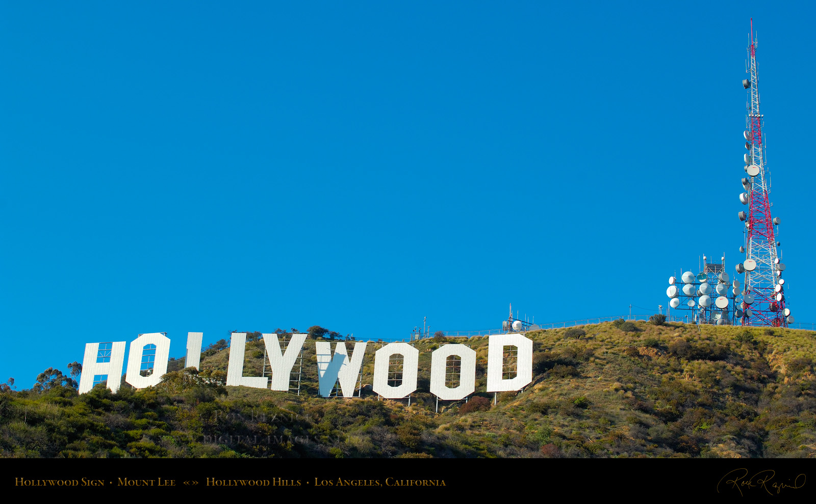 The Hollywood Sign, Hollywood and Assorted Los Angeles
