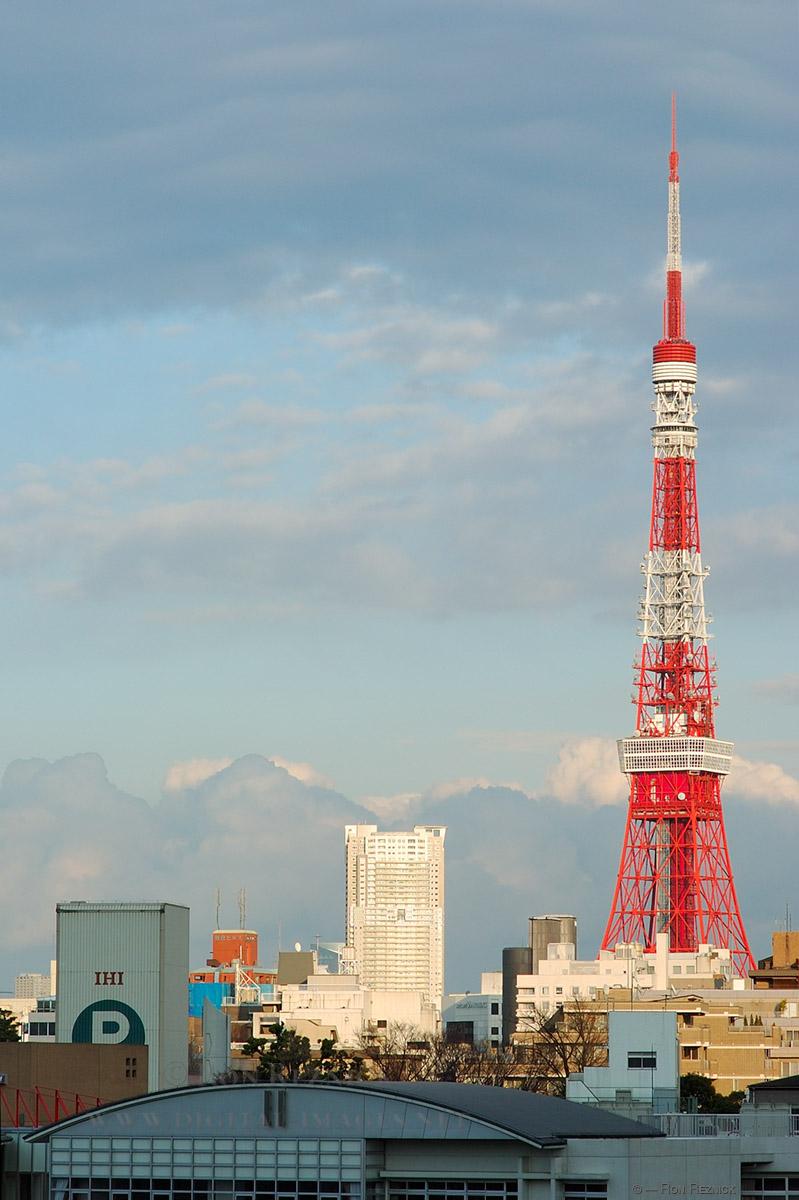 Tokyo Tower Drawing Tokyo Tower 7344