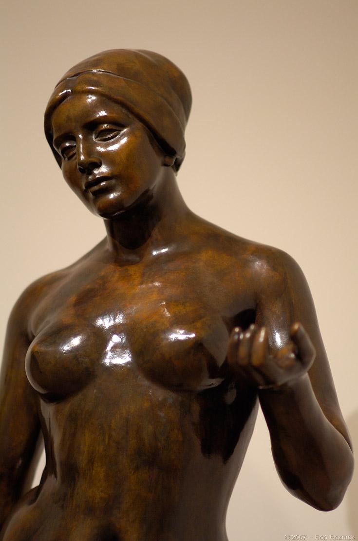 印象派雕刻-马约尔作品之一