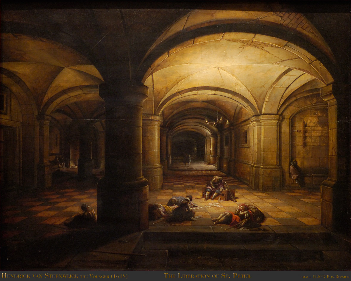 Meanwhile Back in The Dungeon, – Hendrick van Steenwyck the
