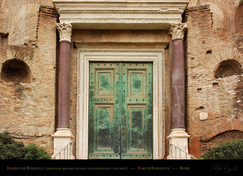 Ancient Roman Doors : Fabulae breves