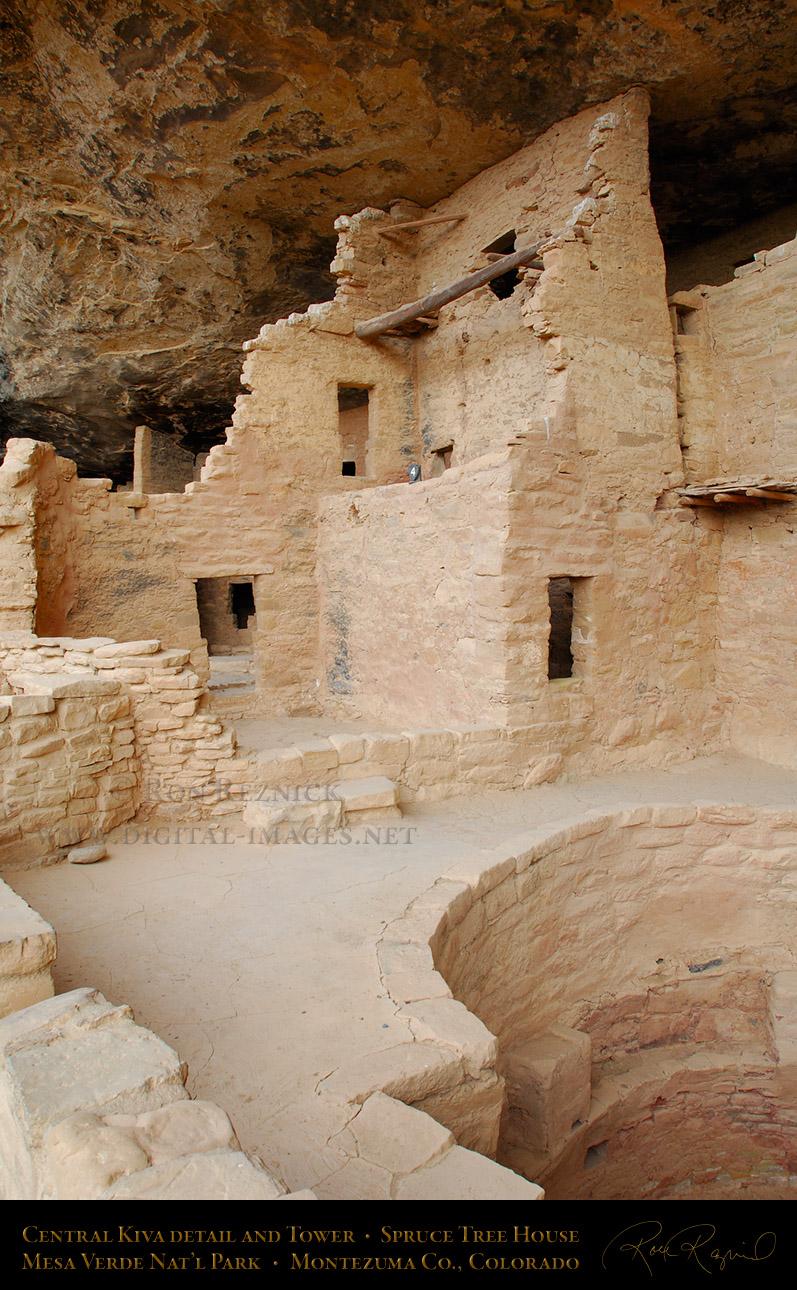 Mesa verde national park for Kiva house