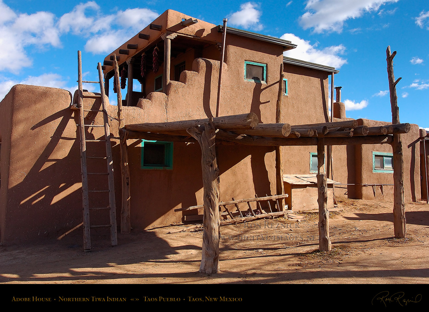 Taos pueblo crafts - Pueblo adobe houses property ...