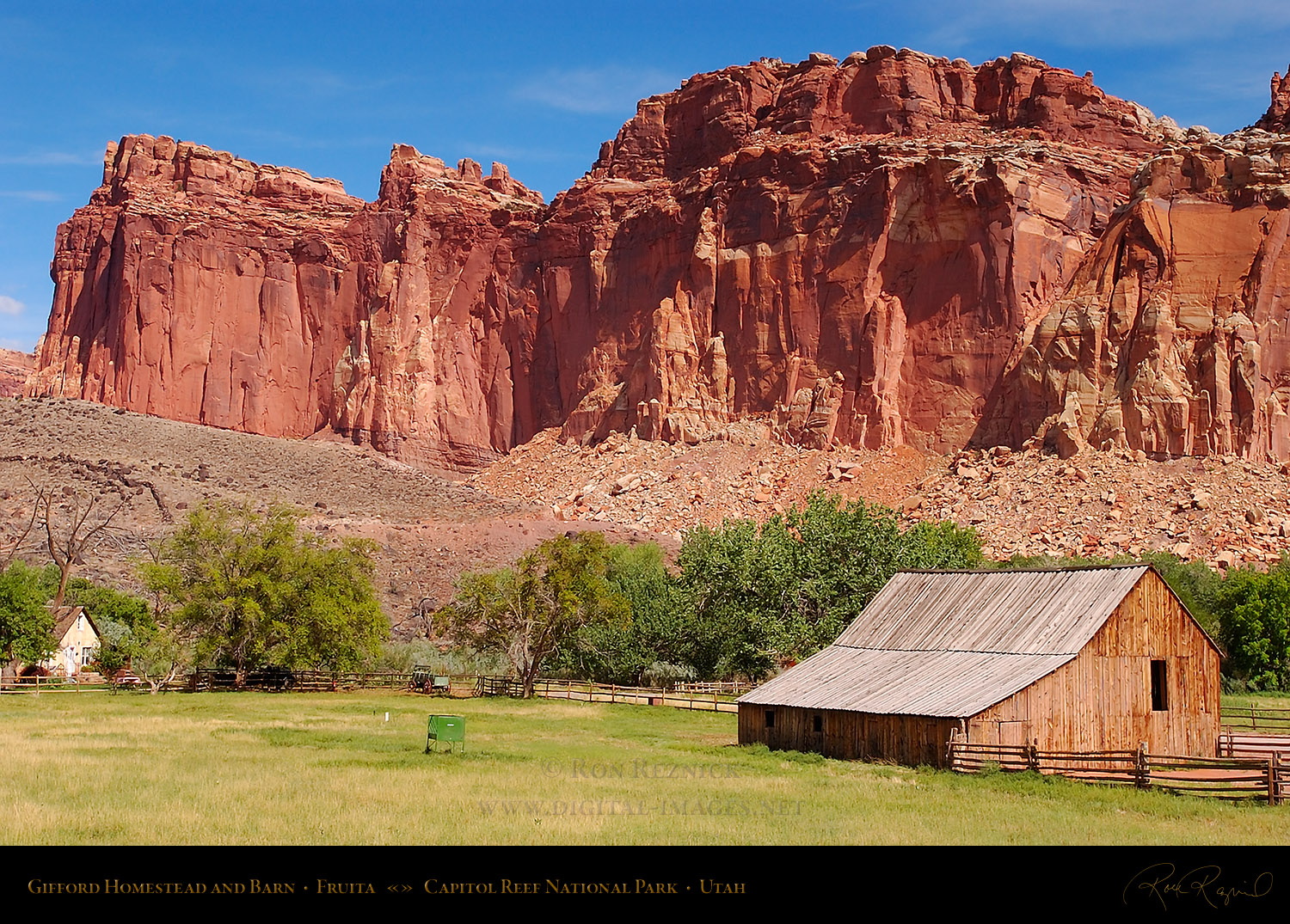 Gifford Homestead Capitol Reef
