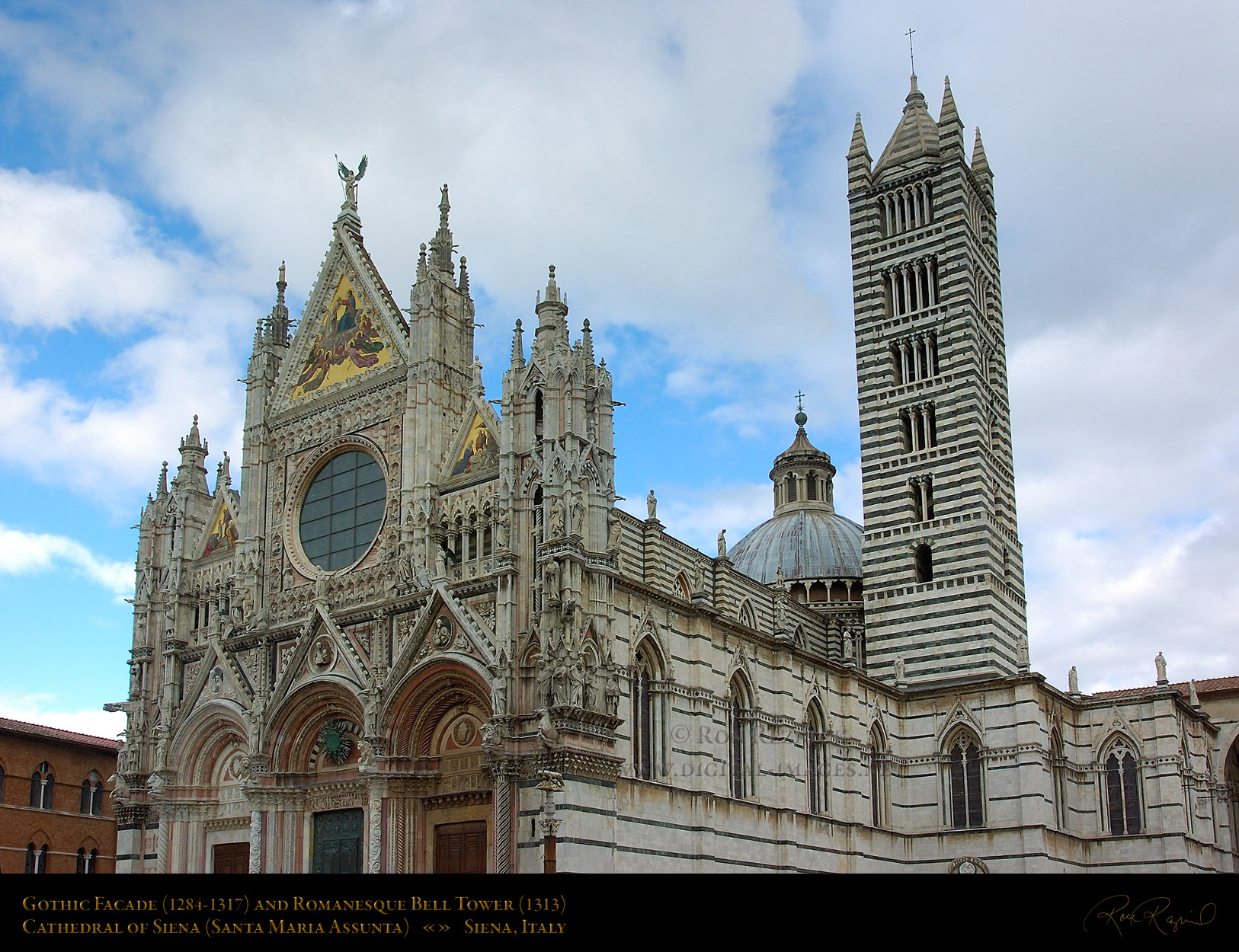 Exterior: Siena Cathedral Exterior