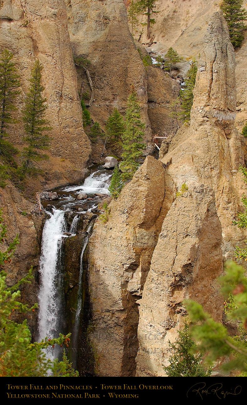 grand canyon of yellowstone @ tower falls | tower falls